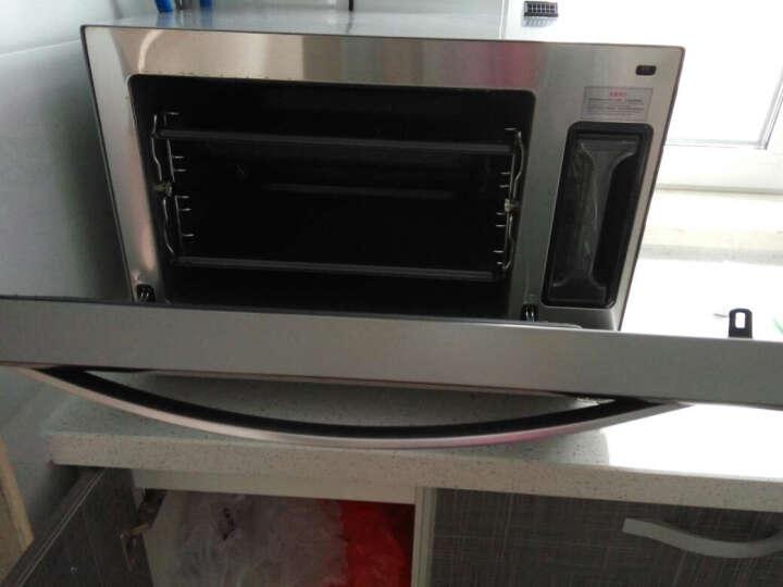 GOVOS 德国蒸烤箱 蒸烤箱二合一台式电蒸箱烤箱一体机 晒单图