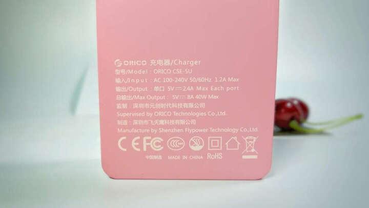 奥睿科(ORICO)SA2011 手机/移动电源/充电宝/收纳包/保护套/绒布收纳袋 尺寸20x11cm -灰色 晒单图