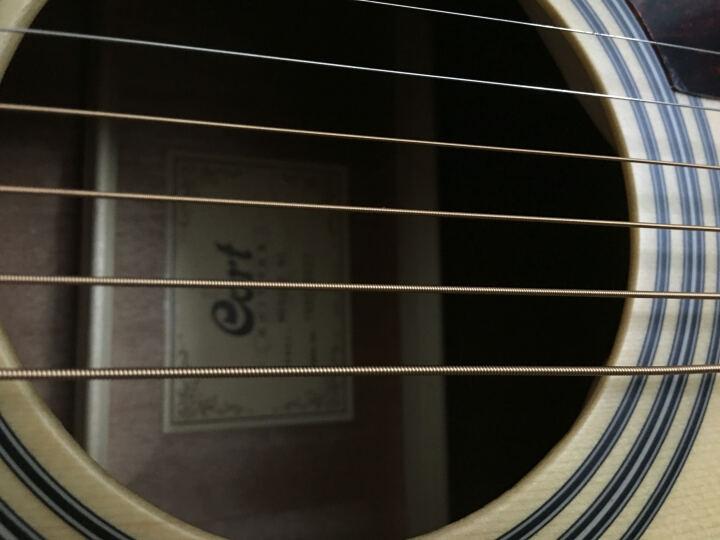 CORT 考特 EARTH系列单板民谣木吉他弹唱指弹 Earth 70LH亚光原声左手琴 晒单图