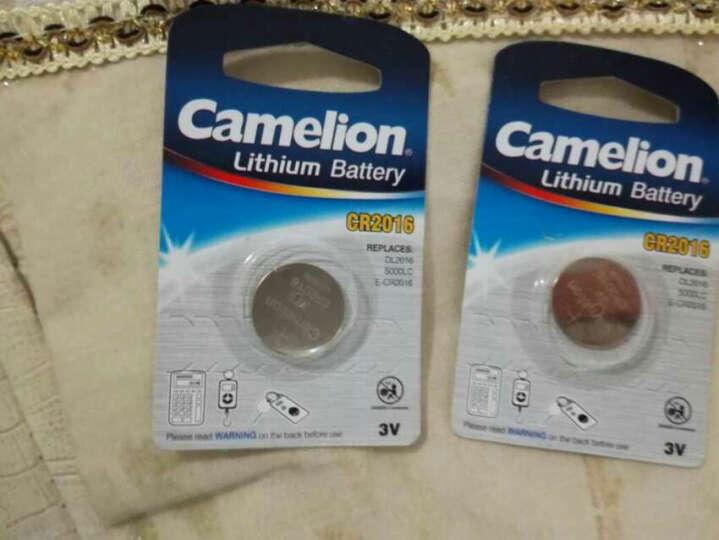 飞狮(Camelion)CR2016/DL2016 3V 纽扣电池 扣式电池 1粒 汽车遥控器/计算器/电子秤/电脑主板 晒单图
