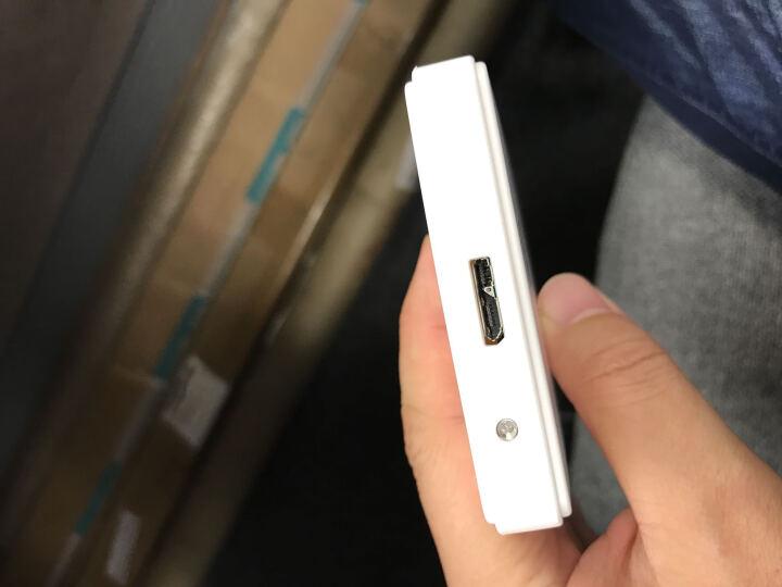麦沃(MAIWO) K2503D 硬盘盒 适用2.5英寸串口笔记本固态SSD/机械硬盘 外置盒 白色USB3.0 晒单图