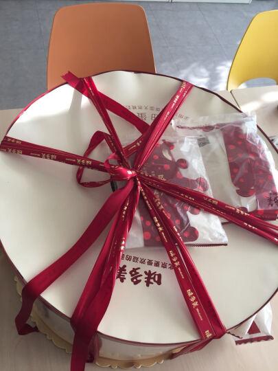 味多美 生日蛋糕 天然奶油 水果蛋糕 同城配送北京 经典100% 直径100cm 晒单图