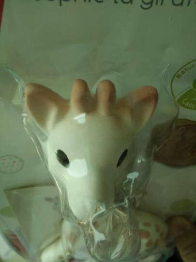 法国进口苏菲小鹿安抚牙胶 婴儿长颈鹿咬咬胶宝宝磨牙玩具咬咬乐 磨牙棒安抚奶嘴 小鹿宝宝牙胶双环型 礼盒装 晒单图