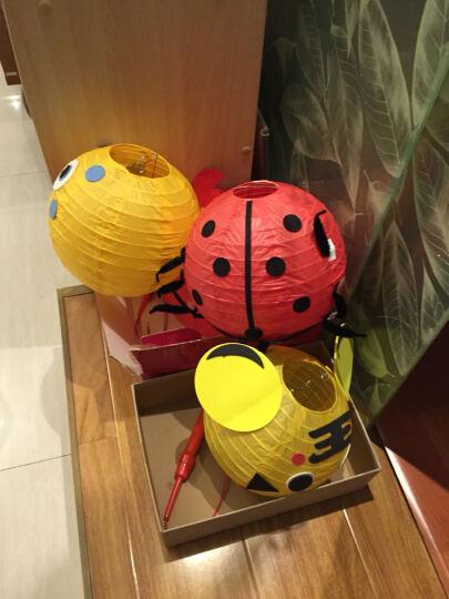 幼儿园小学生儿童diy手工灯笼装饰 布置装饰 发光灯笼 可爱卡通玩具手提挂饰 机器猫 晒单图