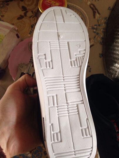 SexeMara男鞋冬季韩版加绒棉鞋男中帮保暖休闲鞋时尚男士板鞋子潮流冬天 蓝色 42 晒单图