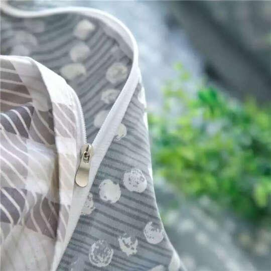 艾蔷家纺 全棉三件套 纯棉四件套  活性斜纹大阪印花被套 床单 学生单人双人床品套件 圣诞树 1.8米床笠180*200被套200*230 晒单图