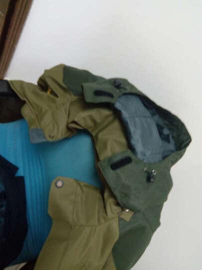 狼骑户外冲锋衣 男女士情侣款防风防水透气保暖三合一冲锋衣2759 紫色-女 L 晒单图