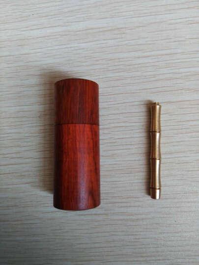 珠阁亮(ZHU GE LIANG) 珠阁亮 高档沉香烟丝沉香木片香烟伴侣礼盒装 7A级木盒便携约3克送铜针 晒单图