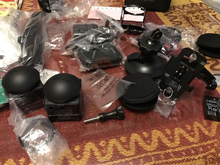 柯达(Kodak)SP360 4K运动相机摄像机/无人机拍摄/潜水摄影/VR全景摄像 Dual Pro Pack 晒单图