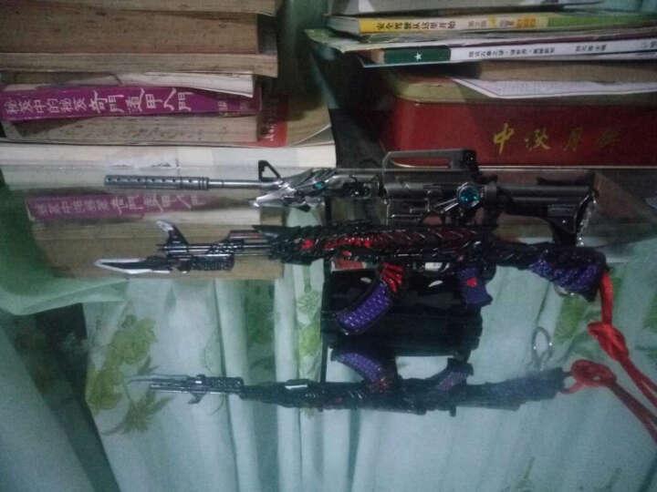 绝地求生大逃杀吃鸡兵器周边CF刀98K枪3三级头盔模型平底锅武器 金色王者之怒 晒单图