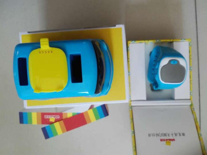 优彼(ubbie)魔法手表 小车版(蓝色) 移动充电外扩音箱小车底座+能学习通话定位的智能手环儿童电话手表 晒单图