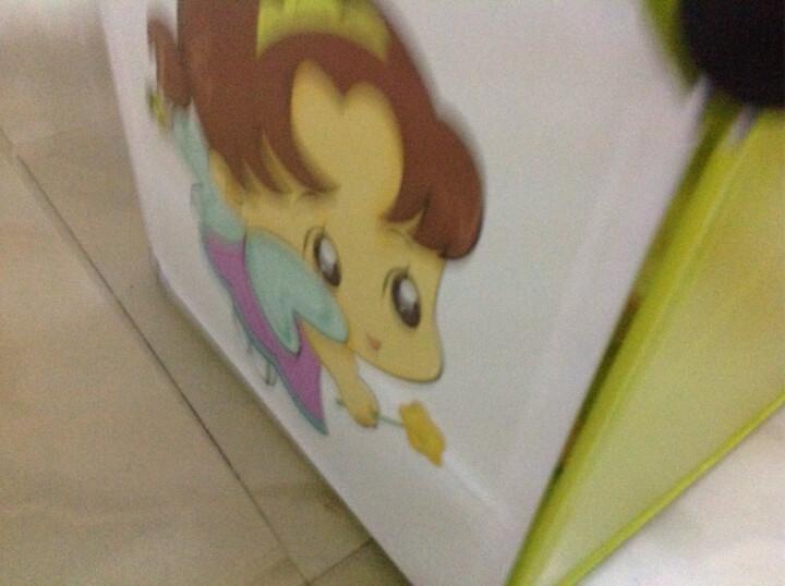 冠腾简易书柜书架组合落地简约现代小柜子储物柜带门宝宝书橱 果绿-9格 晒单图