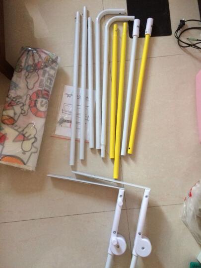 妙心(Myoshin) 床护栏婴儿宝宝床边防护栏儿童床围栏大床挡 (送防撞条)二代萌萌马 2米 晒单图