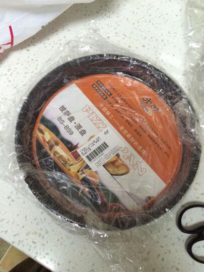 千团精工 烘焙工具不粘深6寸披萨盘烤箱模具 家用圆形蛋糕烤盘 pizza盘 派盘 晒单图
