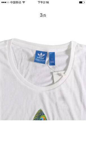 ADIDAS阿迪达斯三叶草短袖女2020夏新款运动休闲圆领透气短袖T恤FM3306 CV9888/黑色 S(165/80A) 晒单图