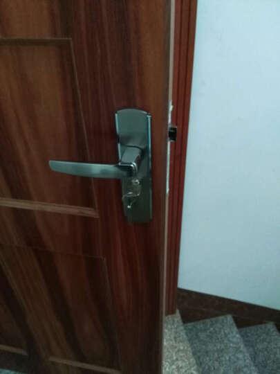 博家BOJIA静音门锁现代室内卧室房门锁木门把手锁具消声锁体 晒单图
