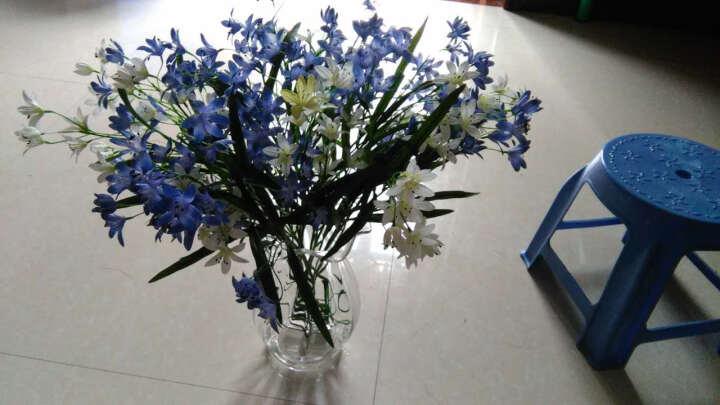 蒂拉欧式彩色透明玻璃花瓶