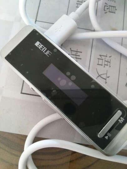 炳捷N9000 随身听mp3 学生 迷你有屏 运动便携mp3跑步 hifi无损音乐播放器 黑色4G 晒单图
