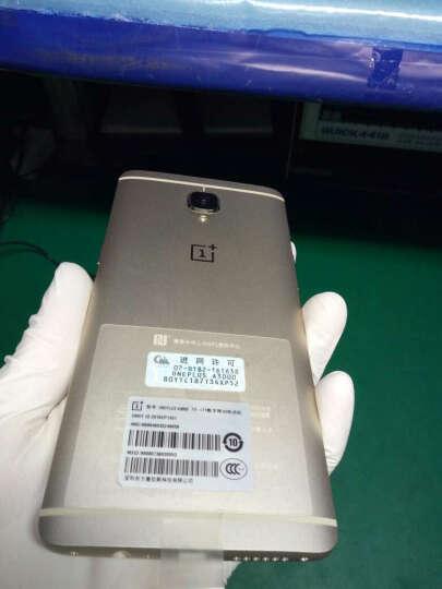 全球购 OnePlus (一加) 智能手机 一加 3 T 枪灰色 6GB+64GB 全网通 标配 晒单图