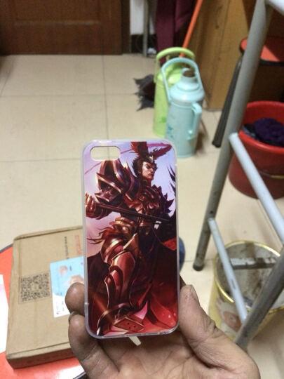 逸美达 英雄联盟LOL皮肤彩烩壳手机套保护壳个性彩壳 适用于苹果iPhone5/5S/SE 电玩战魂 人马 升级版 4102 晒单图