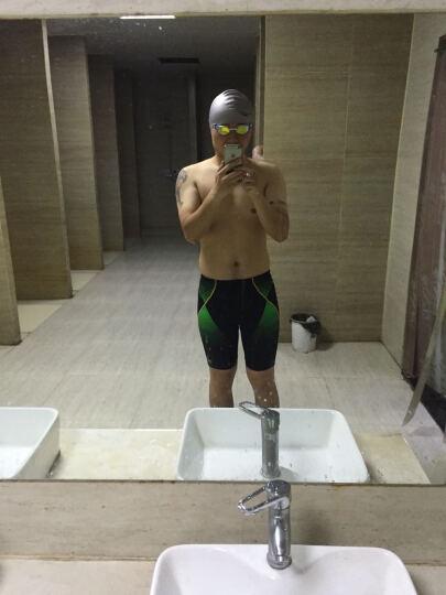速比涛(Speedo) 泳镜高清防雾防水 大框舒适潜水游泳眼镜 男女游泳装备 奥运精英白 晒单图