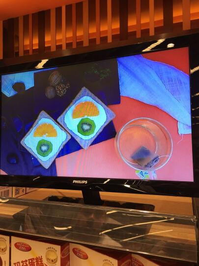 飞利浦(PHILIPS) 19英寸液晶电视机 显示器  带av接口 vga接口 两用 黑色 标配底座 晒单图