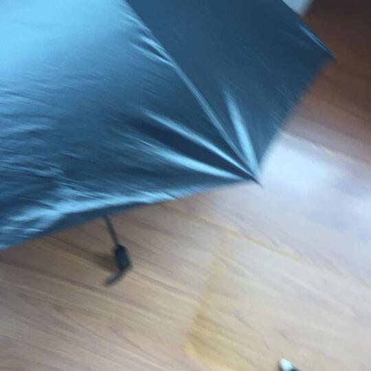 外滩故事晴雨伞 太阳伞防紫外线 防晒遮阳伞女士黑胶小黑伞 琉璃 晒单图