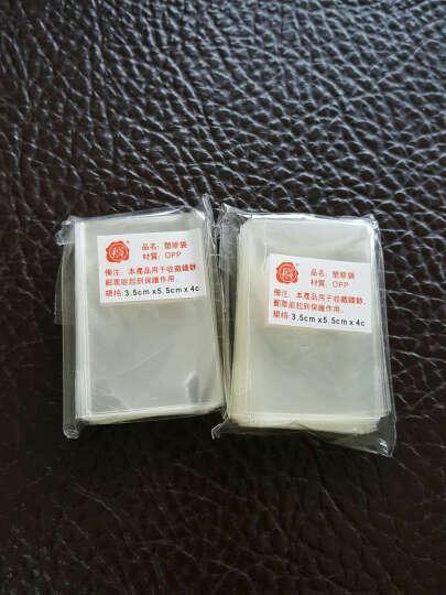 殷氏护邮袋  邮票保护袋  纸币保护袋 多规格可选一个尺寸100张装 小票单个尺寸3.5*5.5cm 晒单图