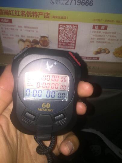 天福户外秒表电子表体育专业运动跑步计时器三排60道PC960 晒单图