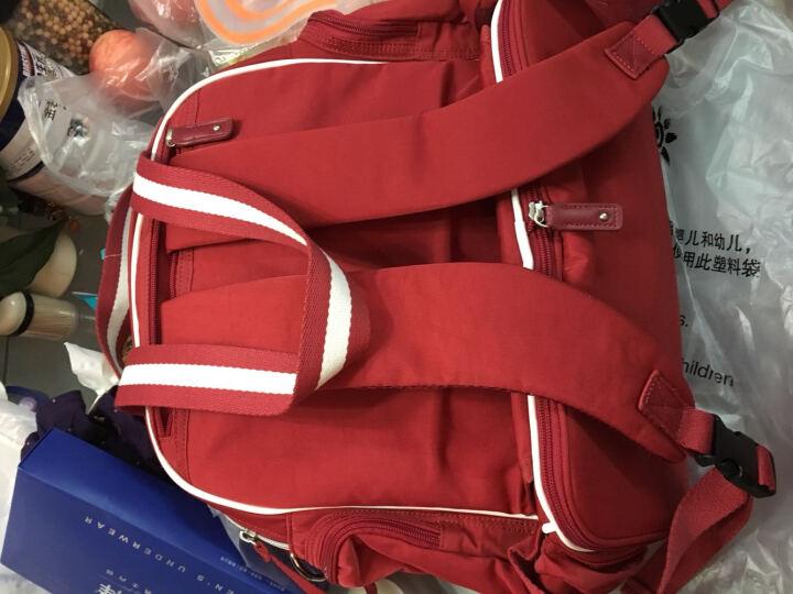 三美婴妈咪包双肩多功能大容量妈妈包手提 高雅灰 晒单图