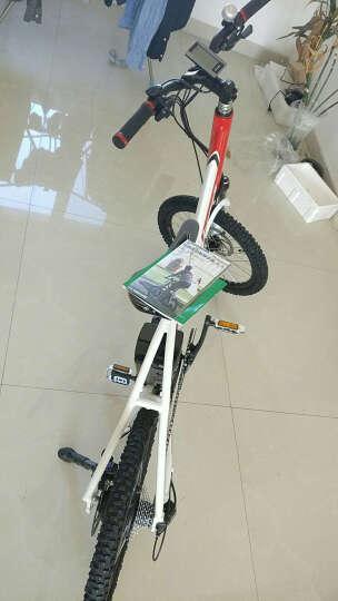 Benelli 运动型电动自行车20寸锂电车时尚迷你电动山地车混合动力智能小型助力山地车 LINK系列整车定金100元 晒单图