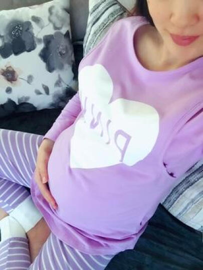 喜孕娇夏季月子服产后薄款纯棉纱布孕妇哺乳睡衣春秋产妇坐7月份8吸汗夏 蕾丝仙人掌白色 XL码 晒单图