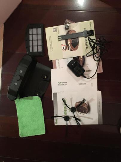 地猫DIMAO智能扫地机器人吸尘器语音识别自动充电超薄静音家用拖地机DM106 晒单图