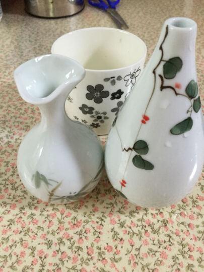 景德镇陶瓷器花瓶 花插手绘小花瓶器家居时尚创意