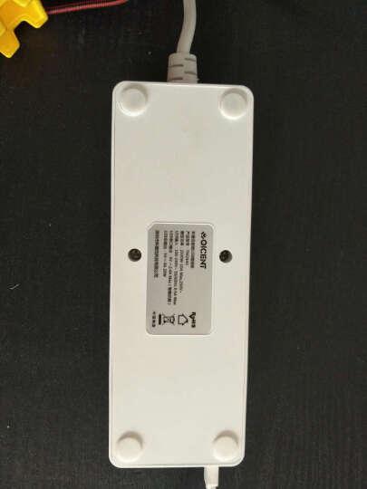 QIC TM2A4U 4USB插线板 2孔位1.5米插座 插排/排插/接线板/拖线板 5V4A苹果三星小米手机充电 晒单图