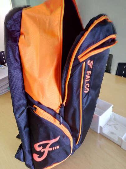 法尔考 羽毛球包双肩 2只装 3只装拍包男女款多功能运动大容量 活力橙(送1对运动护腕) 晒单图