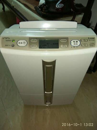 三菱(MITSUBISHI)MJ-E100BF-C 除湿机家用日本原装进口除湿器抽湿器快速干衣 晒单图