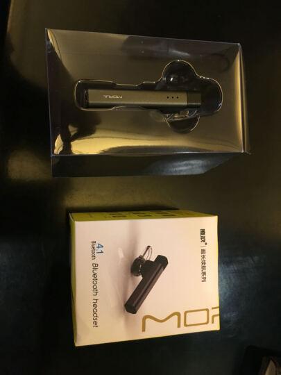 魔浪(morul) MR7 无线蓝牙耳机耳塞挂耳式开车手机运动型车载4.1 深灰色 晒单图