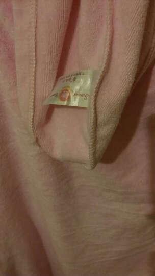 馨牌 浴巾女四季抹胸可穿加厚吸水速干亲肤浴裙浴帽套装女式浴袍干发帽组合装 可爱蝴蝶结美容服 粉色套装 均码 晒单图