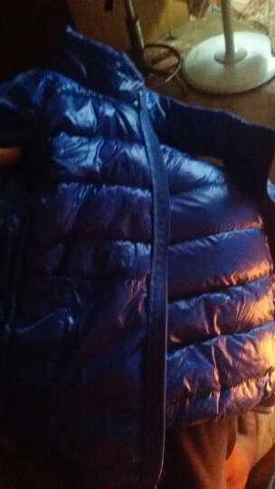 凯姝美 2017秋冬装新款儿童秋装羽绒服马甲男童宝宝轻薄马夹背心女童坎肩冬保暖外套 桃红色 150 晒单图