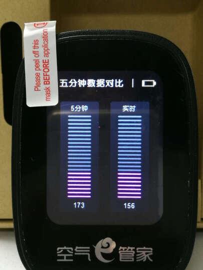 绿之源空气e管家 车载家用激光PM2.5雾霾检测仪器3.0(玛瑙黑) 晒单图