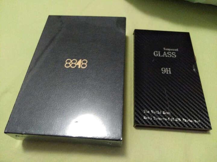 R-JUST 真皮手机套/卡包式皮套/钱包式插卡保护壳 适用于8848钛金M2/M3手机 M3卡包式-黑色 晒单图