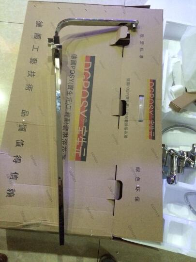宝生元(DGPOSY) 花洒套装全铜方形淋浴花洒 超薄增压顶喷 TL1021妇洗喷枪款(加重龙头) 晒单图
