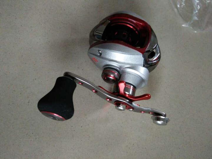 TAIGEK /泰戈11轴水滴轮 鼓式轮磁力刹车 路亚竿鱼线轮 垂钓渔具 银红色 左手轮 晒单图