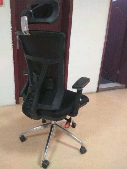 康工电脑椅 人体工学办公椅 KTM206家用网布椅子 职员椅可躺老板转椅 游戏电竞椅 黑色(一年质保) 晒单图
