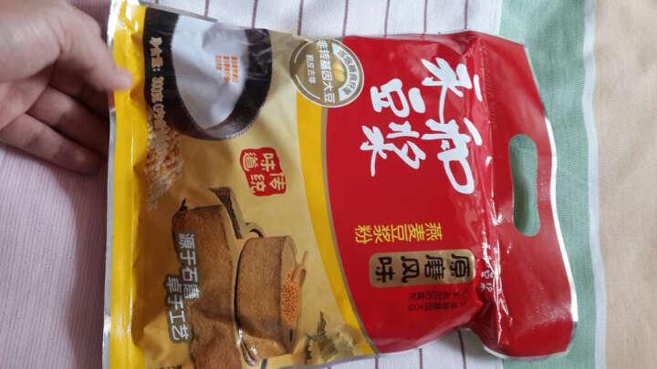永和豆浆 原磨风味 燕麦豆浆粉 300g(30g*10小包) 晒单图