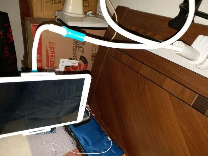 岳迩手机支架床头懒人支架看电视直播支架ipad平板电脑支架桌面夹苹果三星小米华为通用 豪华版加长款手机平板通用130cm粉色 晒单图