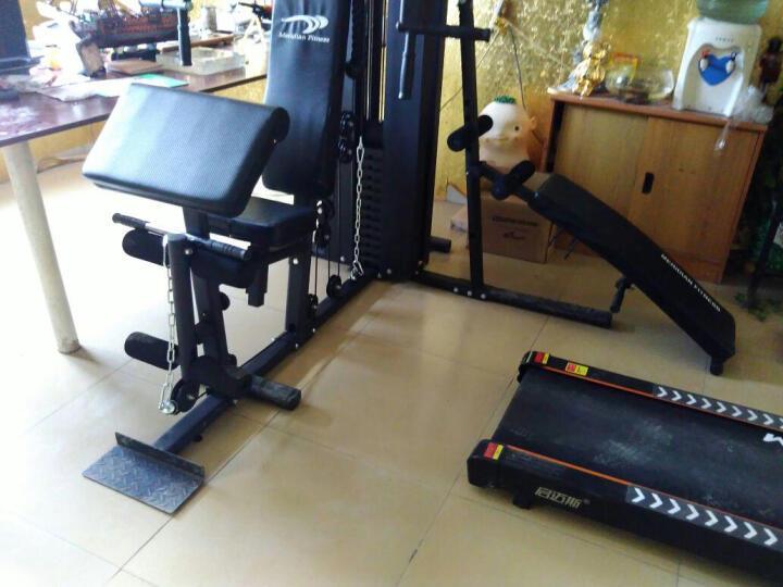 美力德 BL705A综合训练器三人站力量组合健身器械 多功能家用健身器材 带沙袋仰卧板 M6(40*80管)包送货 晒单图