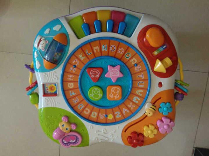 英纷 婴儿多功能学习桌 儿童玩具0-1岁  早教启智字母乐园0801 晒单图