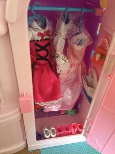 乐吉儿 儿童换装娃娃梦幻衣橱公主洋娃娃过家家女孩玩具依甜芭比套装玩具大礼盒 梦幻洗衣机 多套服饰 A071 晒单图